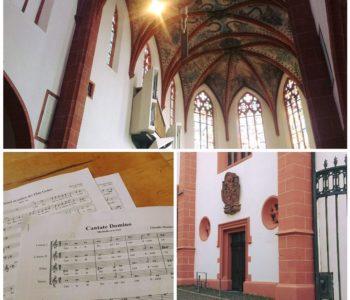 Blick in die Karmelitenkirche Mainz