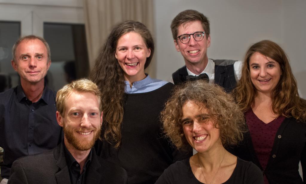 Die Mitglieder des Vocalconsort Mainz