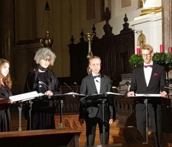 Vocalconsort Mainz singt sein Adventskonzert in der St. Ignaz Kirche in Mainz mit dem Titel NUN KOMM...